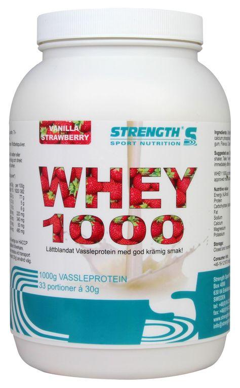 strength whey 1000