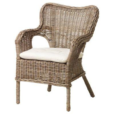 Ikea Byholma Armchair Rattan Armchair Ikea Wicker Chair Retro Dining Chairs