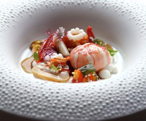 Elegant Receta Del Restaurant La Marine (2 Estrellas Michelin), Un Restaurante De Alta  Cocina Marinera. Su Chef, Alexandre Couillon, Trabaja Utilizando Las  Técnicas ...