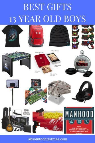 Best Gifts For 13 Year Old Boys 2019