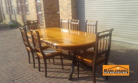Yellow Wood Dining Table And Chairs Milnerton Gumtree Classifieds South Africa 296627133 Dining Table Chairs Dining Table Table And Chairs