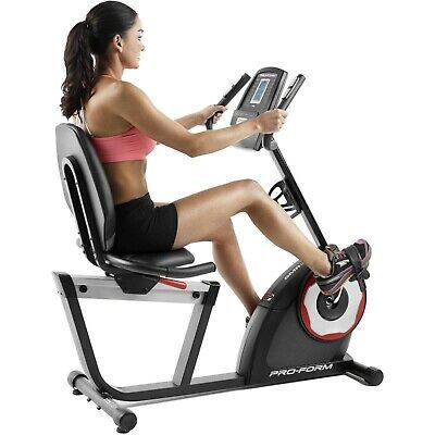 Proform 235 Csx Indoor Recumbent Exercise Bike Stationary Cardio Fitness Bicycle Biking Workout Recumbent Bike Workout Upright Exercise Bike