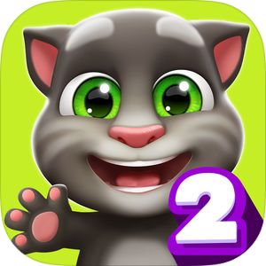 A Virtual Pet With Catitude App Store Story My Talking Tom Talking Tom Free Online Games