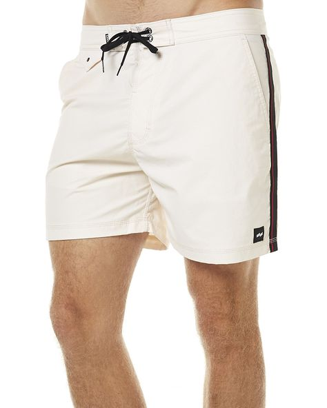 a8809e5e73 BANKS BRITTANY MENS BOARDSHORT - OFF WHITE