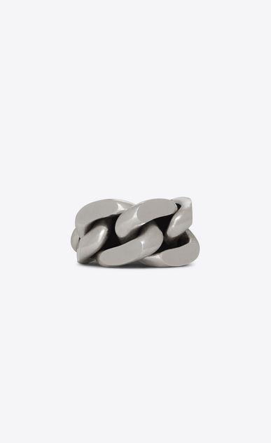 40db0105e1a SAINT LAURENT Bracelets Woman Minimalist bracelet in silver metal a_V4