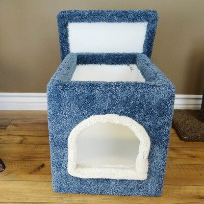 New Cat Condos Premier Litter Box Enclosure Color Beige Size 20