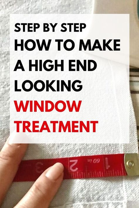 Easy tutorial how to make a faux roman shade with rod pocket. Quick and easy DIY window treatment on a budget. Make a roman shade for your kitchen window for extra privacy.