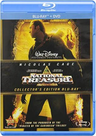 Download National Treasure 2004 Brrip 400mb Hindi Dual Audio 720p In 2020 National Treasure Nicolas Cage Blu Ray Movies