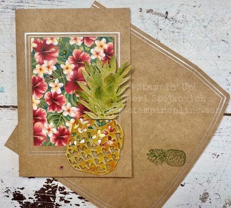 Photo of Stampin' Up! Tropical Oasis January Mini Catalog and Sale-A-Bration. Free Catalogs, Free Paper Trim