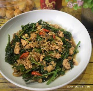 Resep Cah Kailan Ayam Pedas By Yunietan23 Resep Masakan Indonesia Resep Masakan Masakan Indonesia