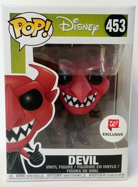 The Nightmare Before Christmas Devil Funko Pop