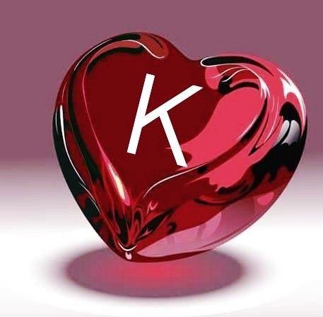 Love Wallpaper K Name Image