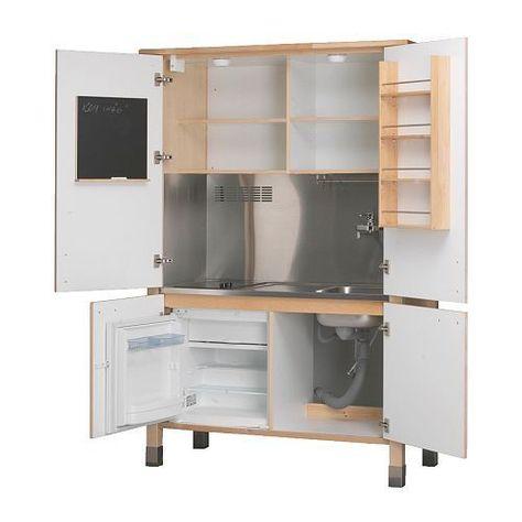 a scomparsa Värde Minicucina di Ikea costruita all\'interno di un ...