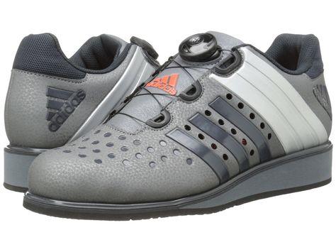 more photos 3e9d5 a4b7a Men Adidas Drehkraft Lifting Weight Shoe M19057 Metallic Dark Grey 100%  Original…