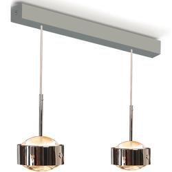 Top Light Puk Maxx Choice Drop Pendelleuchte 2 Kopfe Nickelmatt 35cm Standard Fassung Top Light In 2020 Drop Pendant Lights Light Pendant Lamp