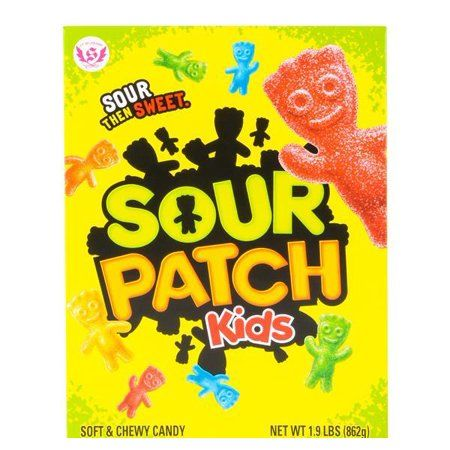 Giant Box Of Sour Patch Kids Case Of 2 Sour Patch Sour Patch Kids Chewy Candy