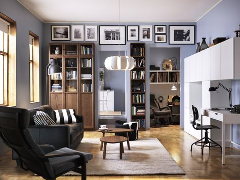 Billy boekenkast met deuren ikea ikeanederland inspiratie