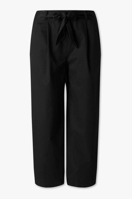 um 50 Prozent reduziert Detaillierung Rabatt-Sammlung Damen - Hose - Culotte - schwarz | the LOOK in 2019 | Pants ...