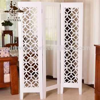Room Decoration Wood Carving Folding Screen Partition With Mirror Buy Folding Screen Wooden Partition Wood Carving Folding Screen Folding Wooden Partition Pro Wooden Room Dividers Wooden Partitions Room Decor