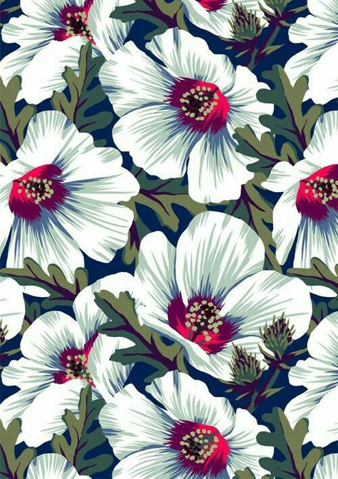 . See more Modern Floral Patterns at www.pinterest.com/flowersfauxever/modern-floral-patterns/