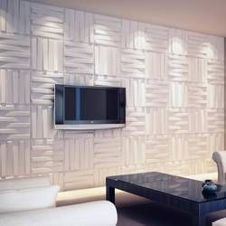 19 6 X 19 56 Plant Fiber Wall Paneling In Off White Decorative Wall Panels Wall Paneling Plastic Wall Panels