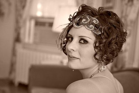 Rangoli Jewellery and Hair Accessories by Aisling Nelson: Short-haired brides