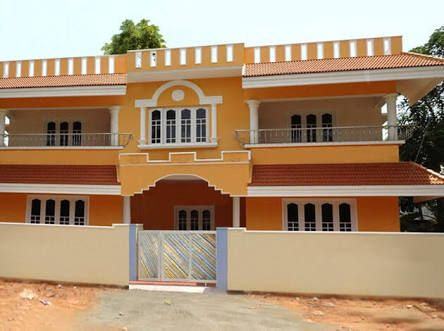 Best Exterior Color Combinations For Indian Houses Google Search Exterior Color Combinations Home Wall Painting House Colors