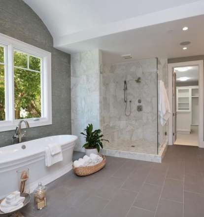 Pictures Of Bathrooms Top 2018 Paint Color Ideas Master Bathroom Design Bathroom Design White Master Bathroom