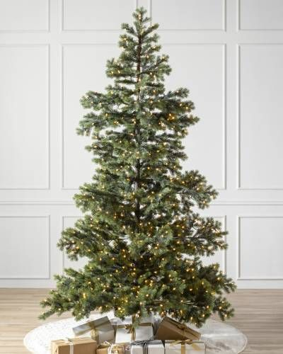 Yukon Spruce Artificial Christmas Tree Balsam Hill Realistic Artificial Christmas Trees Christmas Tree Sale Pre Lit Christmas Tree