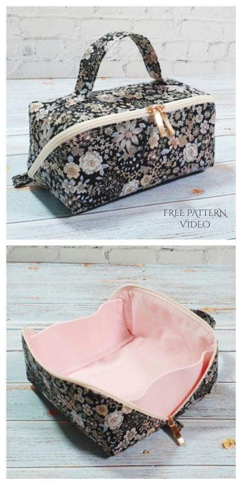 Bag Patterns To Sew, Sewing Patterns Free, Free Sewing, Quilted Purse Patterns, Crochet Edging Patterns, Patchwork Patterns, Loom Patterns, Dress Patterns, Sewing Hacks