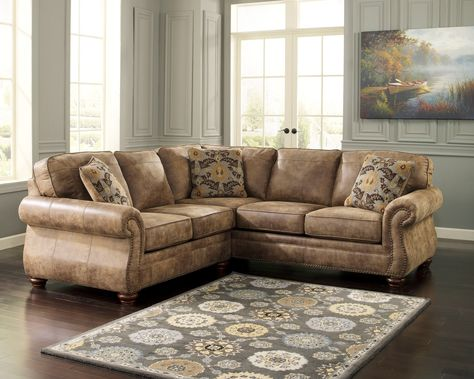 Awesome Larkinhurst Small Scale Sectional Sofa Sectionals Ashley Short Links Chair Design For Home Short Linksinfo
