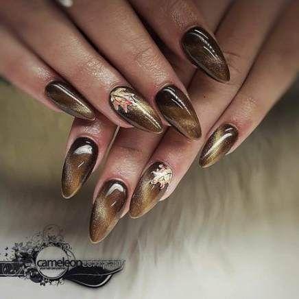 34 Ideas Nails Ideas Classy Almond For 2019 Fall Acrylic Nails Trendy Nails Pretty Nails