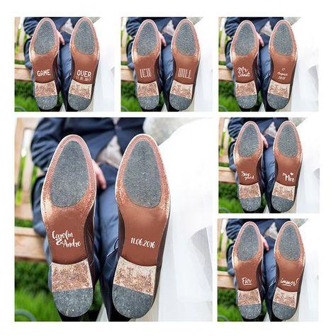 Aufkleber Schuhe Hochzeit Brautschuhe / Braut / Bräutigam | Etsy