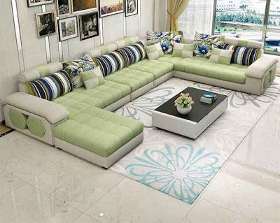 40 Modern sofa set designs for living room interiors 2018 New ...