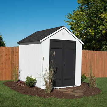 Magnolia 6 X 8 Wood Storage Shed In 2020 Backyard Storage Sheds Backyard Sheds Backyard Storage