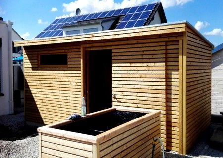 Rhombushaus Rhombus 01 Gartenhaus Design Gartenhaus Gartenhaus Mit Schleppdach