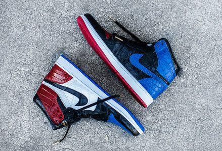sale retailer 0c370 30358 2018 Newest The Shoe Surgeon Air Jordan 1 Top 3 Custom   www ...