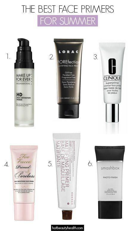 The Best Face Primers For Long Lasting Summer Makeup Best Face