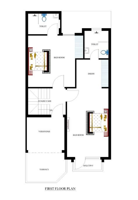 25x50 House Plans For Your Dream House House Plans Architectural Design House Plans House Plans 3d House Plans