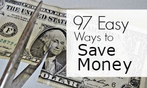 77+ Easy Ways to Save Money
