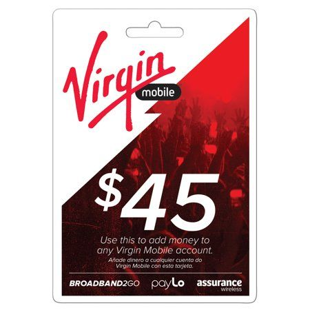 Virgin Mobile 45 Top Up Email Delivery Loghomeplans Log Home