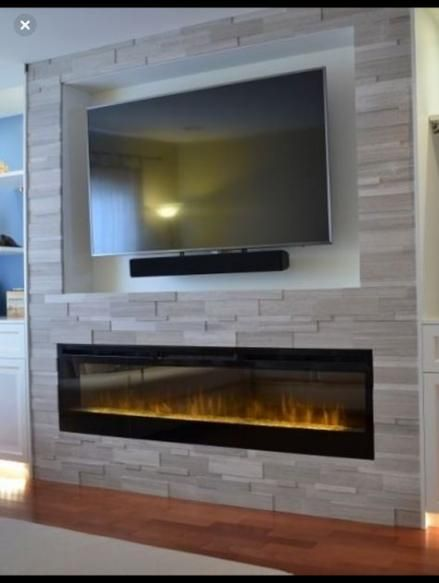 Living Room Tv Wall Fireplace Entertainment Center 66 Ideas #wall #livingroom
