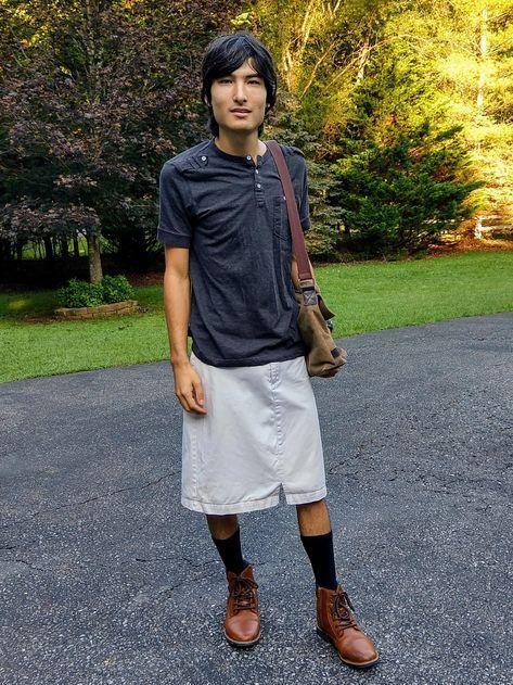 Männer müssen röcke tragen