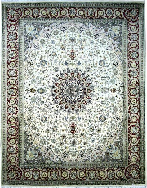 Among the finest handmade oriental rugs ever made, Isfahan rugs are the summum of the Persian carpet. In an enchanted city, renowned for its taste and finesse, these carpets are of great delicacy and utmost intricacy. http://www.alrug.com/4452