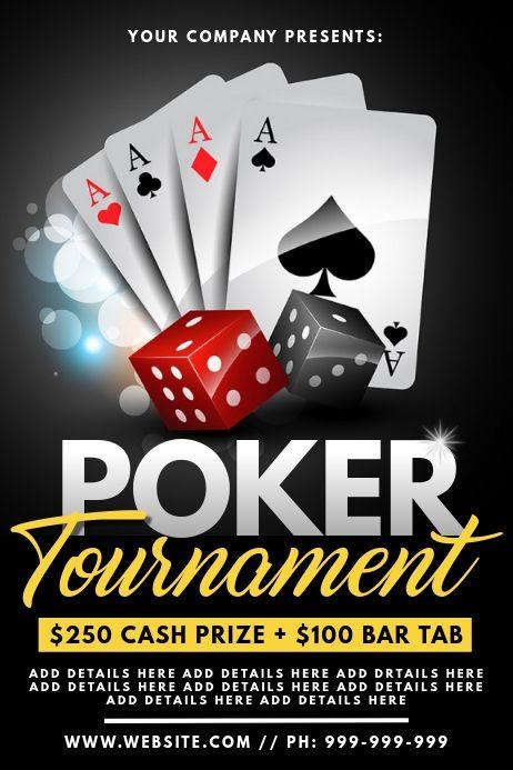 Poker Tournament Poster Poker Tournament Poker Online Poker