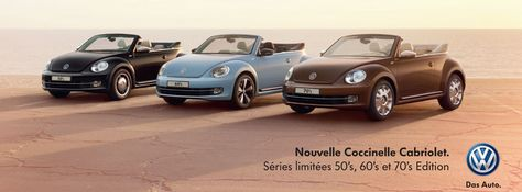 coccinelle cabriolet 60's edition
