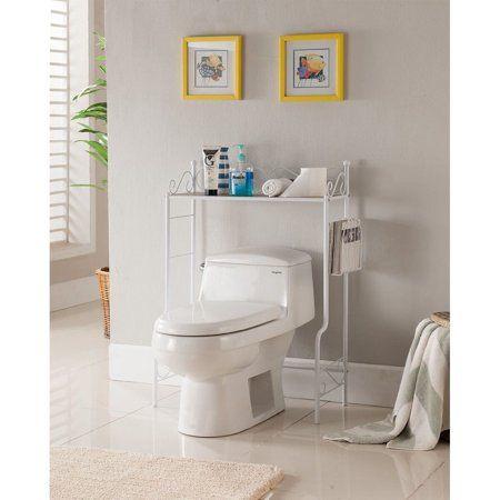 Kb Bm1126 W 36 X 26 X 12 In Etagere Bathroom Rack White Marble Top Walmart Com Bathroom Storage Shelves Bathroom Shelves Bathroom Organization Diy