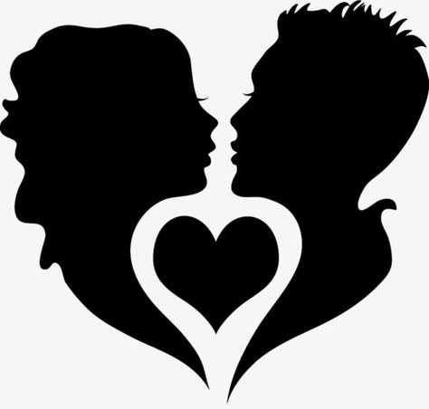 black silhouette,dancing,heart-shaped,valentine\'s day,lovers,husband and wife,conjugal love,black,silhouette,valentine\'s,day,husband,wife,conjugal,love