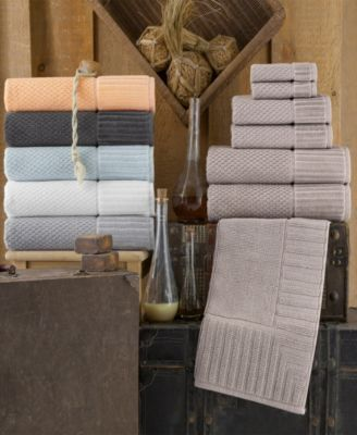 Enchante Home Timaru 8 Pc Hand Towels Turkish Cotton Towel Set