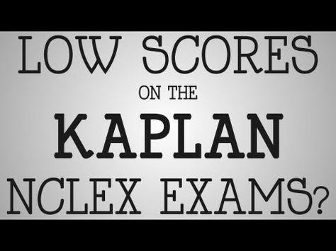 NCLEX-RN Exam Low Scores On The Kaplan NCLEX Exams? - YouTube - kaplan optimal resume